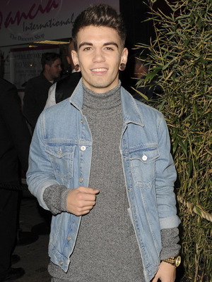 Jake Sims seen arriving at The Drury Club for Fusion Festival Wrap Party, 13th October 2015