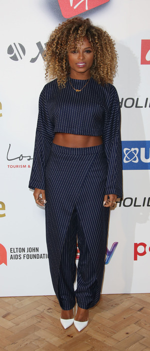 Fleur East attends the 2015 Attitude Awards in London, 15th October 2015