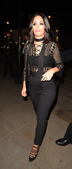 Frankie Bridge attends the 2015 Attitude Awards in London, 15th October 2015