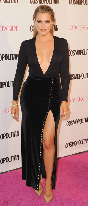 Khloe Kardashian at Cosmopolitan's 50th birthday party, 13th October 2015