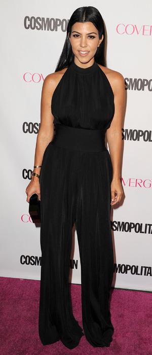 Kourtney Kardashian at Cosmopolitan's 50th Birthday Party, 13th October 2015