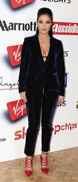 Tulisa at the 2015 Attitude Awards in London, 15th October 2015