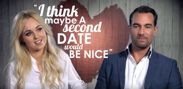 Jorgie Porter goes on a date with personal trainer Craig on Celebrity First Dates - 12 October 2015.