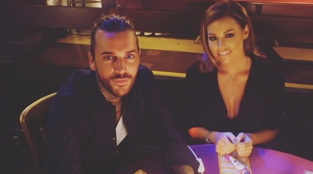 TOWIE: Jessica Wright and Pete Wicks at bingo night. Episode aired: 14 October 2015.
