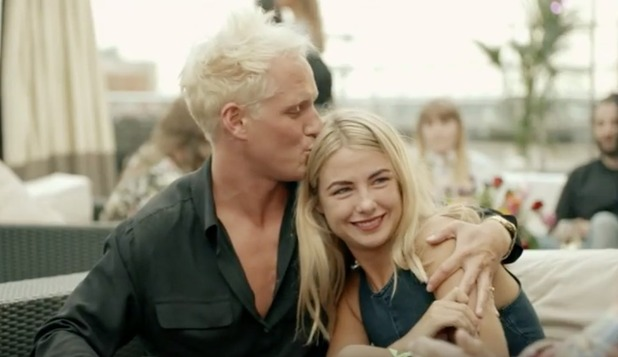 Jamie and Jess star in Made In Chelsea's series 10 trailer - 13 October 2015.