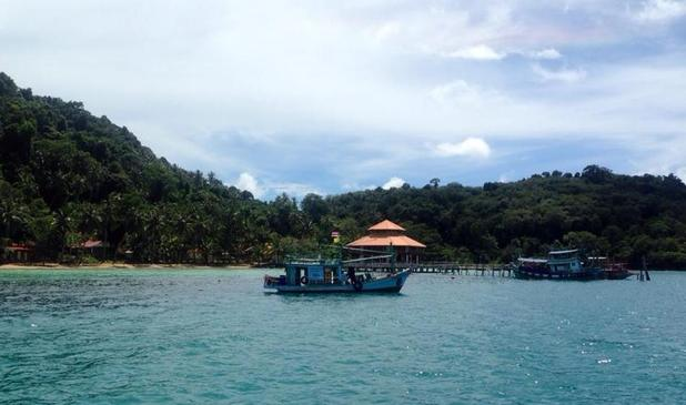 Boat trip in Koh Chang, Thailand. 13/10/15