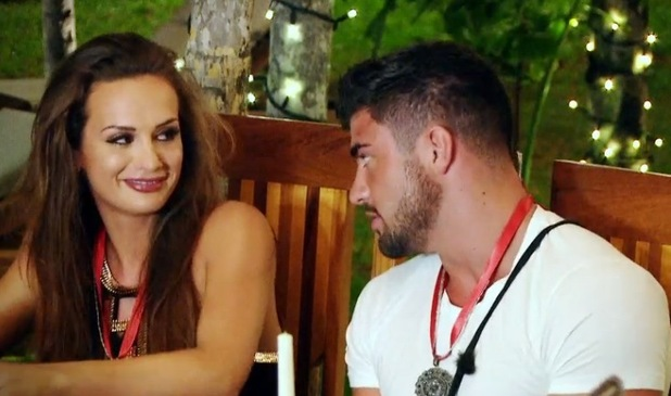 Rogan O'Connor and Ali Drew, Ex On The Beach finale 13 October