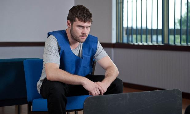Emmerdale, Aaron in prison, Fri 16 Oct