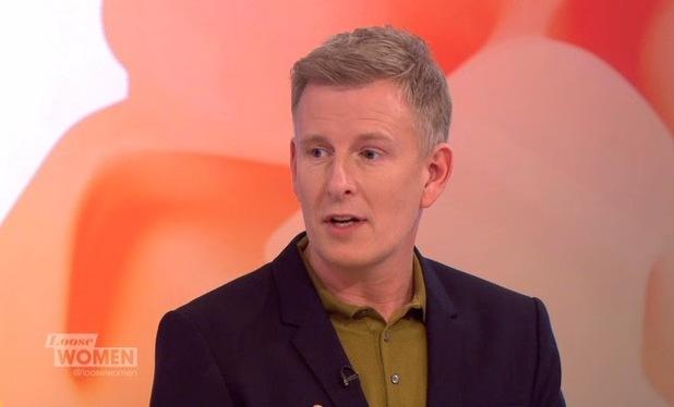 Patrick Kielty on Loose Women, ITV 11 October