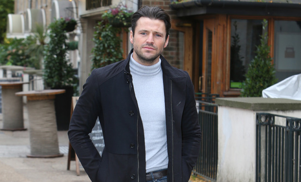 Mark Wright outside ITV Studios, London 15 October
