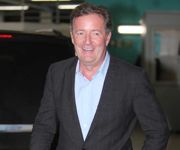 Piers Morgan outside ITV Studios - 5 October 2015.