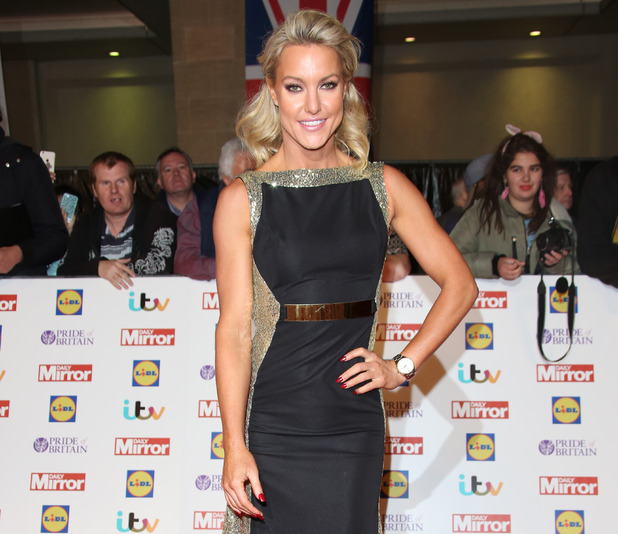 Strictly Come Dancing professional Natalie Lowe arrives at The Daily Mirror Pride of Britain Awards 2015 held at Grosvenor House Hotel - 28th September 2015