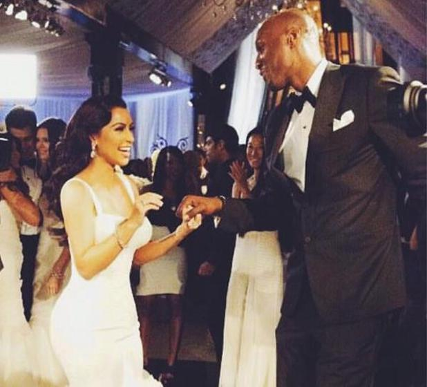 Kim Kardashian shares picture with Lamar Odom, 18 October 2015