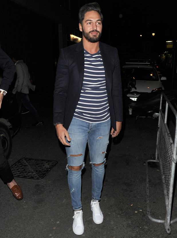 Mario Falcone attends Binky Felstead's collection launch with In The Style 15 October