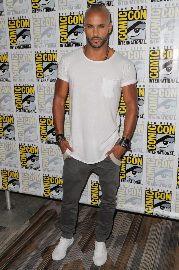 Actor Ricky Whittle attends the 'The 100' press room during day 2 of Comic-Con International on July 10, 2015 in San Diego, California.