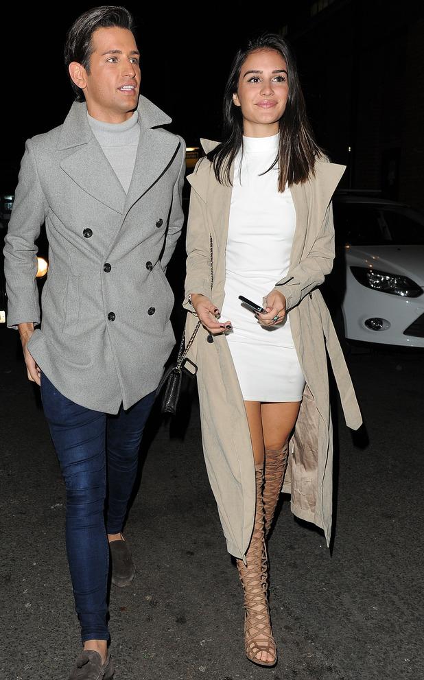Ollie Locke and Naz Gharai attend Binky Felstead's In The Style launch, London 16 October