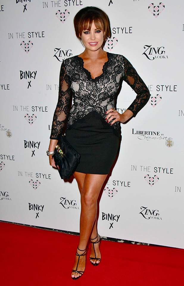 Binky x In The Style clothing collection launch, London, Britain - 15 Oct 2015 Jessica Wright