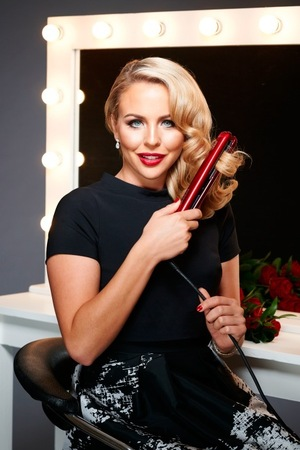 TOWIE's Lydia Bright is the new face of Nicky Clarke DesiRED electricals range, October 2015