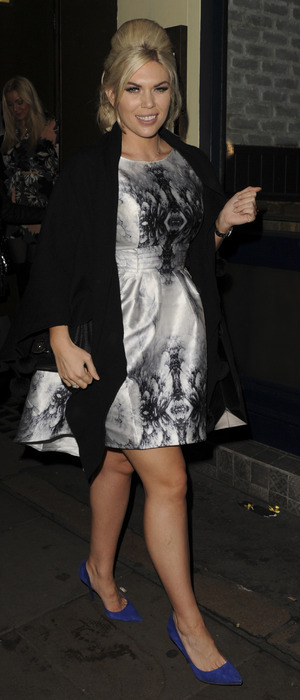 Frankie Essex at the Sleek Make-up Launch Party in London, 22nd October 2015