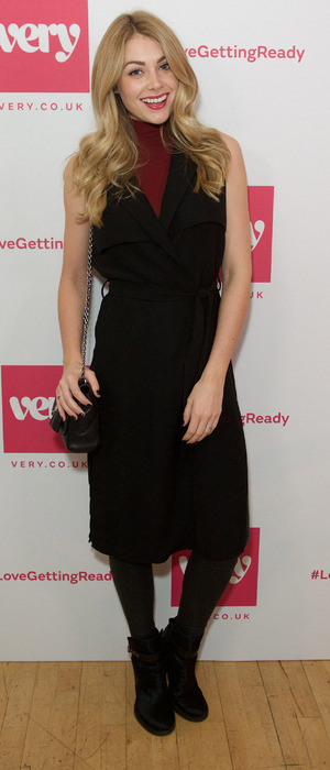 Georgia Jones at the Very.co.uk #LoveGettingReady fashion show in London, 22nd October 2015