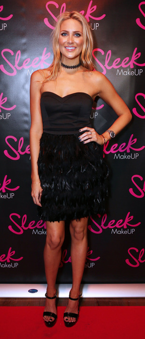 Stephanie Pratt at the Sleek MakeUP Launch party in London 22nd October 2015