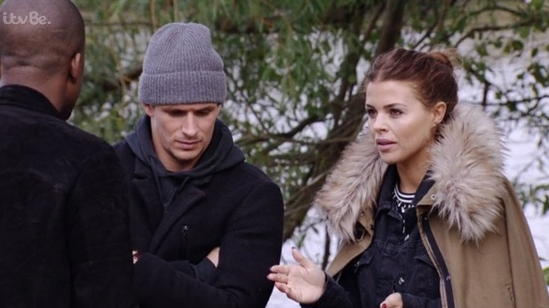 TOWIE: Chloe and Jake go for a walk in the park - 21 October 2015.