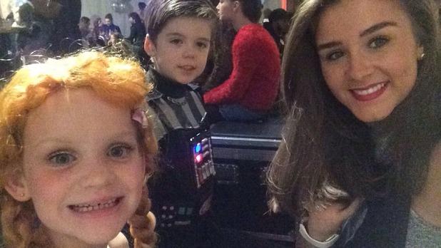 Brooke Vincent Blog: Brooke attends Disney On Ice 22 October