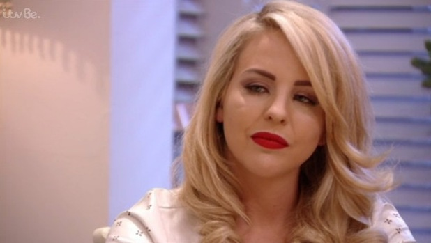 TOWIE: Lydia Bright talks about her relationship troubles with Arg. 18 October 2015.