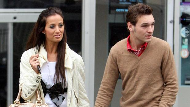 Chantelle Houghton and Samuel Preston hit The Lanes for some retail therapy -n Brighton, England - 21 May 2007. Brighton, United Kingdom.