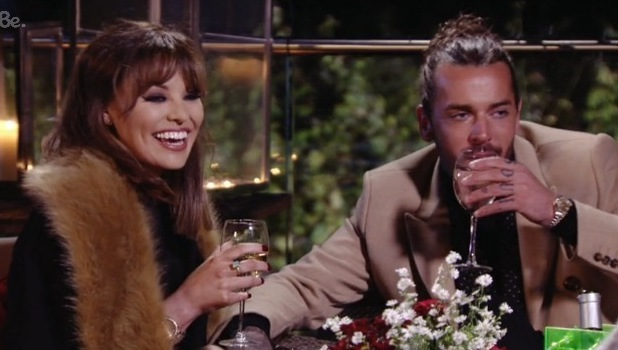 TOWIE - Pete and Jess on vineyard date. 18 October 2015.