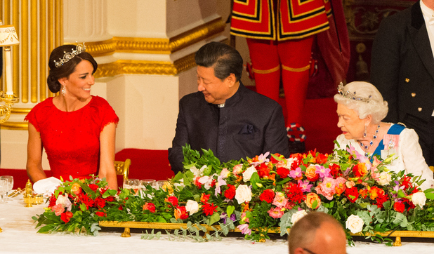 Kate Middleton - State Visit Of The President Of The People's Republic Of China - Day 2. 20 October 2015.