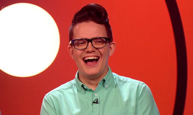 Comedian David Morgan on Fake Reaction - 21 February 2014.