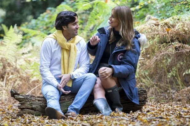 Ferne McCann and Liam Blackwell on third date, Epping Forest, TOWIE 20 October