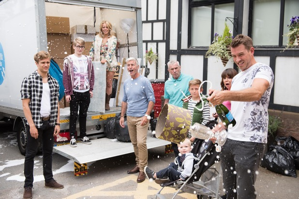 Hollyoaks, The Nightingales arrive, Mon 26 Oct