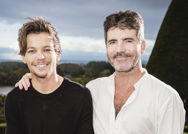 X Factor 2015: Judges' Houses - Simon and guest Louis in the south of France.