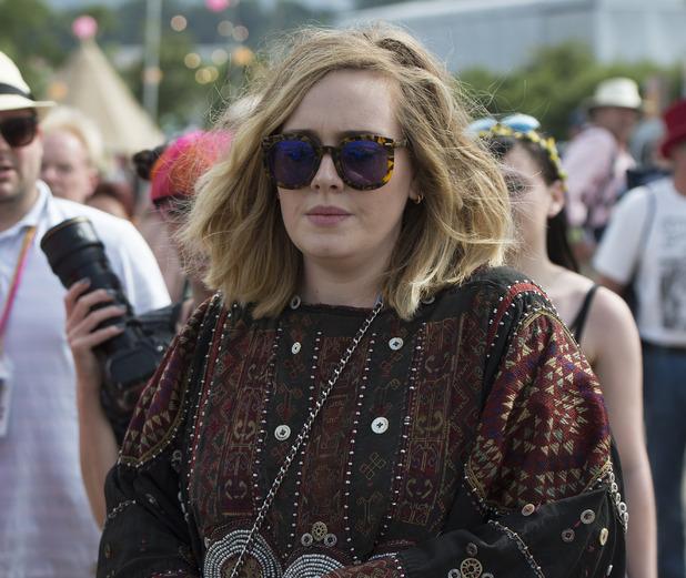 Adele at Glastonbury Festival 2015 - 27 June 2015.
