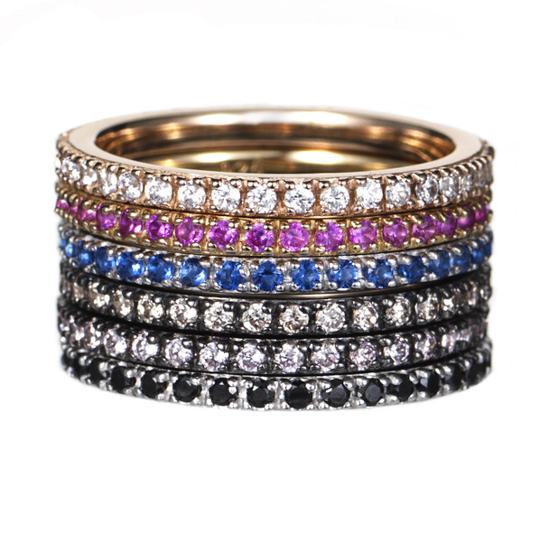 Rosie Fortescue Stacking Rings £45 each, 20th October 2015