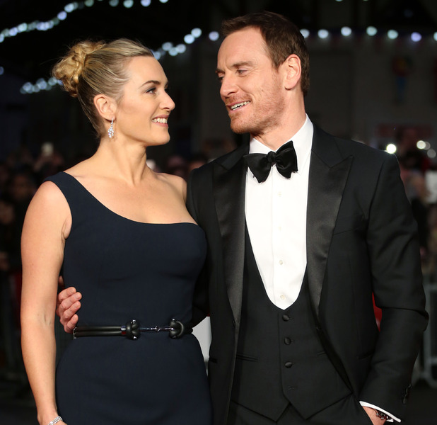 Kate Winslet and Michael Fassbender at the BFI London Film Festival Steve Jobs premiere in London, 19th October 2015