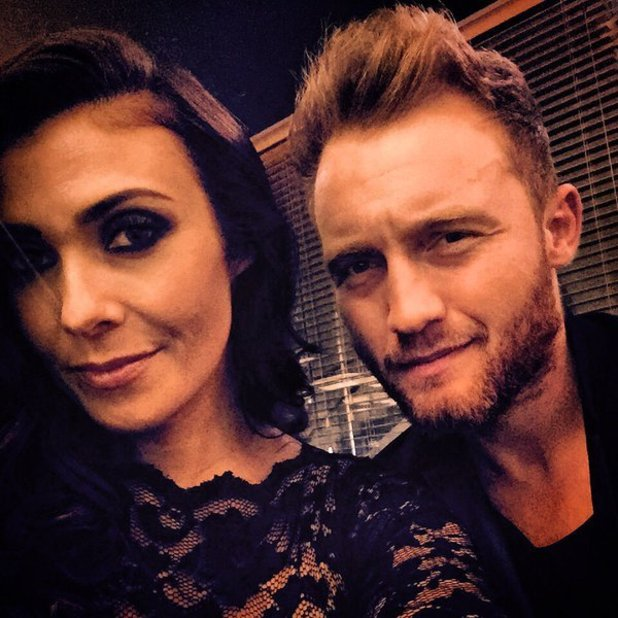 Kym Marsh and boyfriend Matt Baker go on a date night, 24 October 2015.