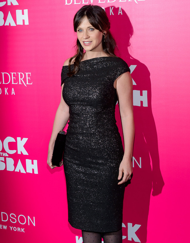 Zooey Deschanel at the Rock the Kasbah premiere, New York 19 October