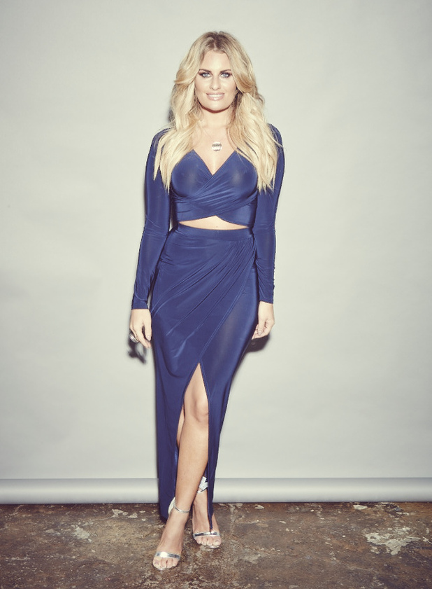 Reveal fashion photo shoot - TOWIE's Danielle Armstrong. Issue 42 - 20 October 2015.