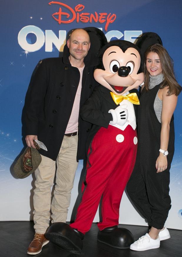 Brooke Vincent attends Disney On Ice, Manchester 14 October