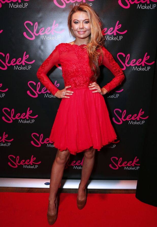 Made In Chelsea's Georgina Toffolo attends the Sleek MakeUP 24K Gold Collection Launch, London, Britain - 21 Oct 2015