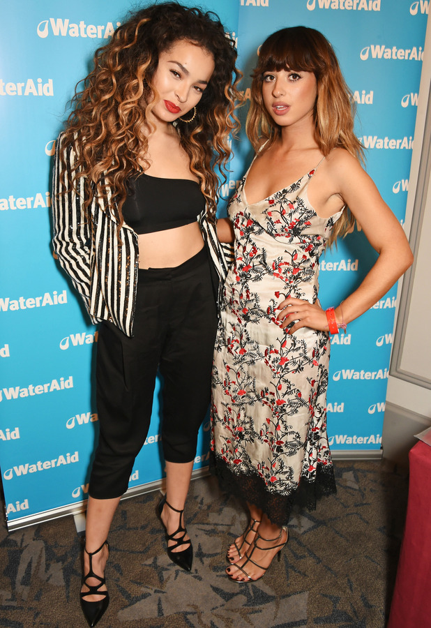 Ella Eyre and Foxes at the Q Awards 2015, 19th October 2015