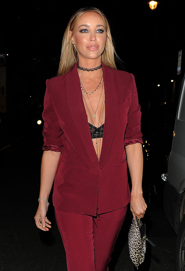 TOWIE's Lauren Pope at Binky x In The Style launch party at Libertine Club - 16 October 2015.