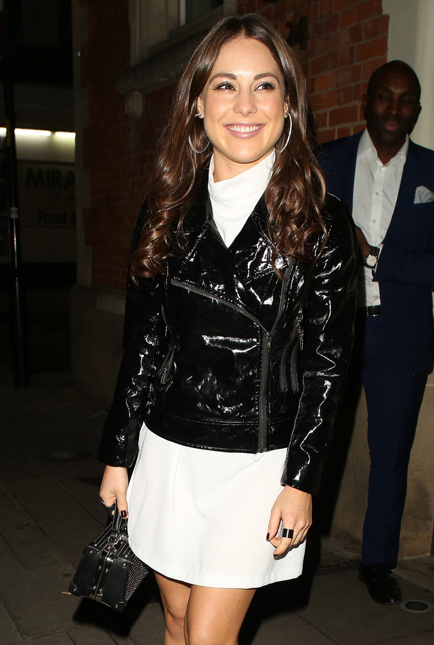 Louise Thompson at the Ellie Goulding 'Bring Colour Back' campaign launch 7 October
