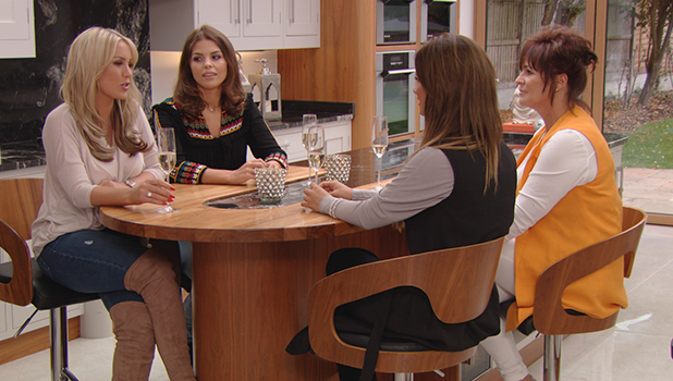 TOWIE episode to air 25 October 2015 Chloe Lewis' mum joins the girls for champagne
