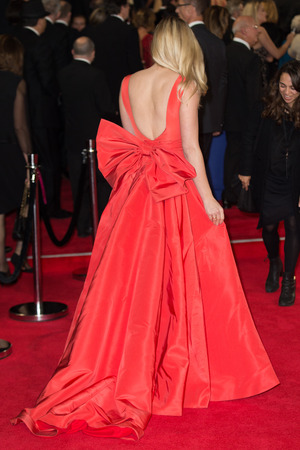 Ashley James arrives at CTBF Royal Film Performance™ 2015, the World Premiere of 'Spectre' in London - 26th October 2015