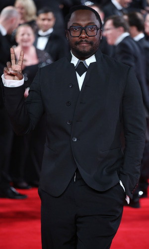 Will.i.am attends the Spectre Royal premiere, Royal Albert Hall, London 26 October