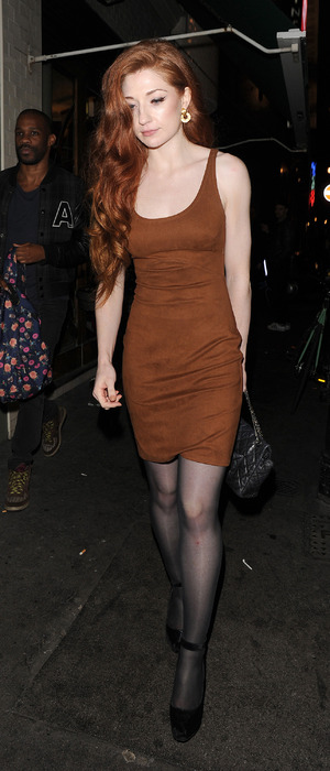 Nicola Roberts attends the Kill Your Friends premiere in Soho, London, 28th October 2015